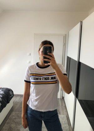 Weißes T-Shirt von Zara