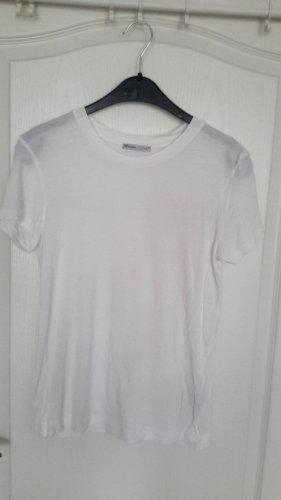 """weißes T-Shirt von Zara Basic """"neuwertig2"""