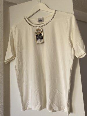 Walbusch T-Shirt white-natural white