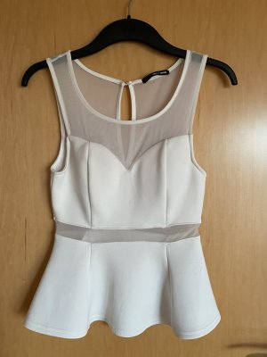 Tally Weijl Top cut out blanco