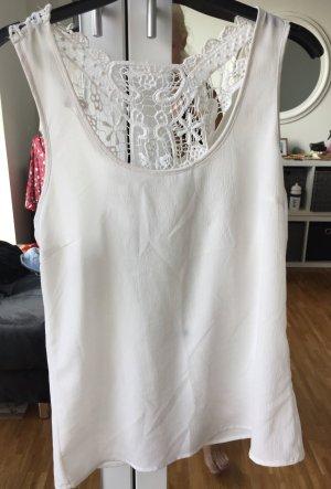 Only Crochet Shirt white