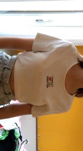 weißes Tommy Hilfiger T-Shirt 90's Vintage