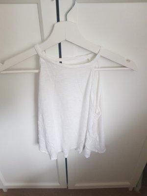 H&M Rugloze top wit