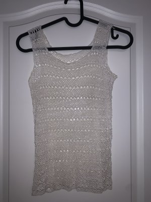 Crochet Top white-natural white