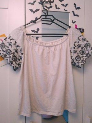 weißes Top/ Bluse