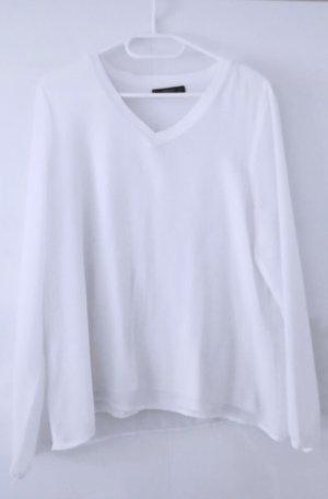Weißes top bluse hemd oberteil tank top shirt tshirt