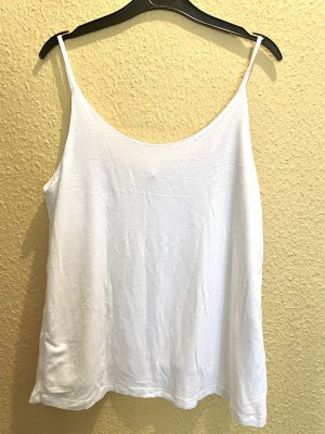 Amisu Top o kroju litery A biały-w kolorze białej wełny