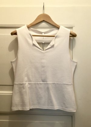 KAREN MILLEN Top cut-out bianco