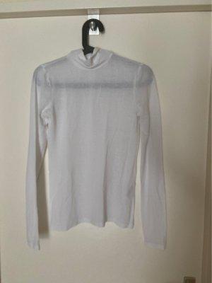 H&M Turtleneck Shirt white