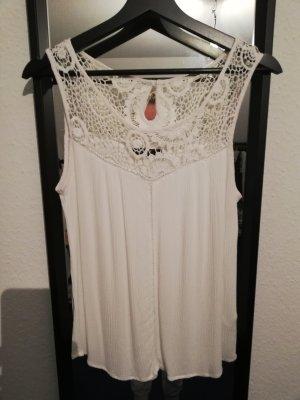 Reserved Haut tricotés blanc