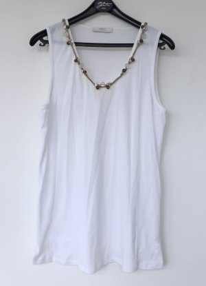 Nice Connection Basic Top white cotton