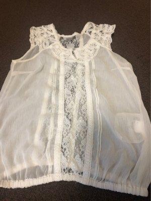 Object collectors item Top in seta bianco