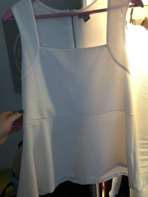 weißes Top von H&M