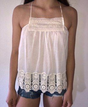 Weißes Top von Zara