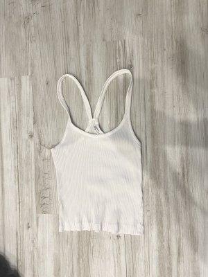 Weißes Top Zara