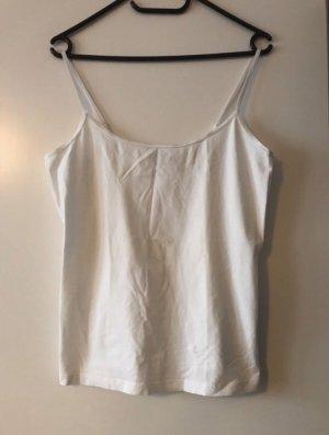 Weißes Trägerhemd