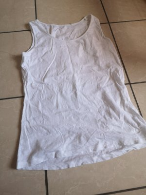 Cool Code Strappy Top white
