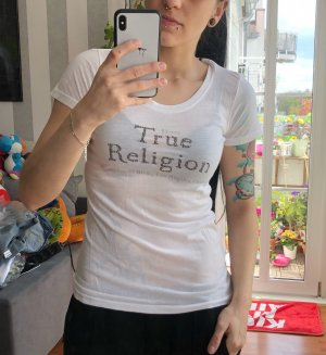 True Religion T-shirt biały