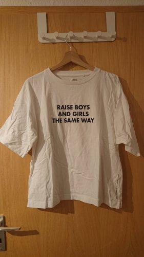 weißes Uniqlo Tshirt