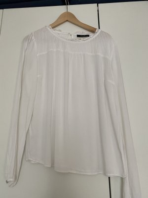 Weißes VILA Blusenshirt