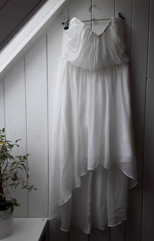 Gina Tricot Robe bas asymétrique blanc