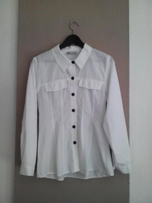 Weißes Zara Hemd 100% Baumwolle, Größe S