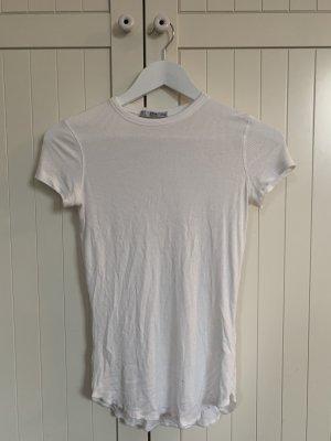 Weißes Zara T-Shirt