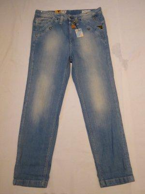 G-Star Workowate jeansy błękitny