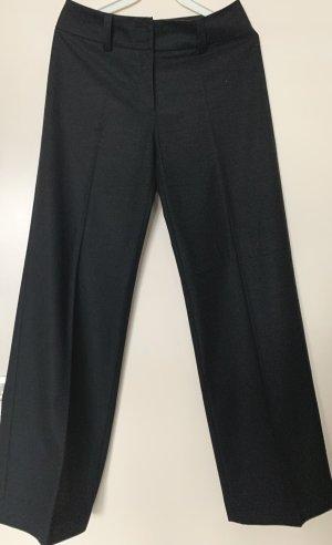 Mergler Pantalón anchos gris antracita