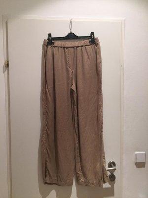 Spodnie Marlena beżowy-camel