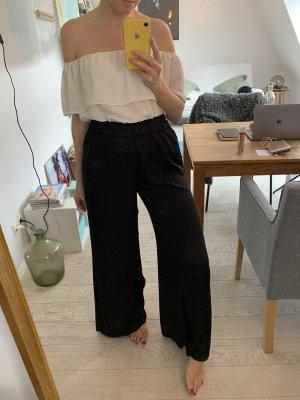 Zara Woman Pantalone palazzo nero