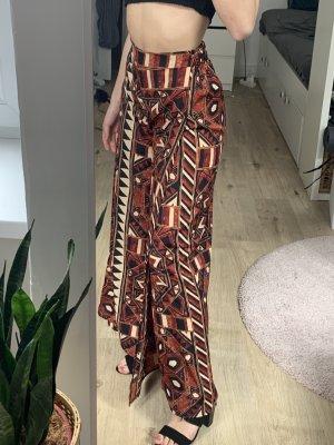 H&M Spodnie Marlena Wielokolorowy