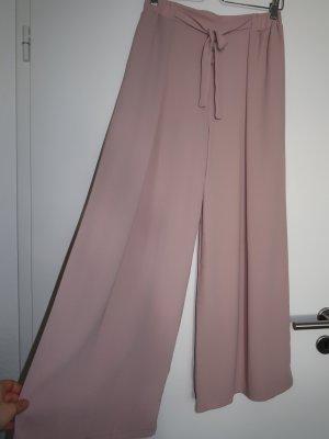 Miliana Pallazzobroek stoffig roze Polyester