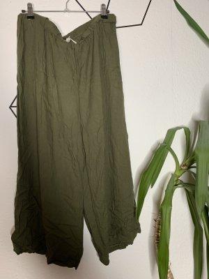 Pantalone alla turca grigio-verde