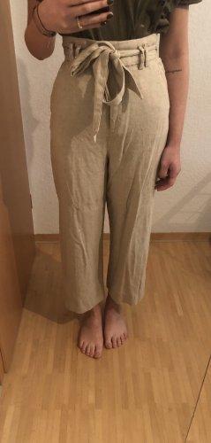 H&M Pantalone culotte beige
