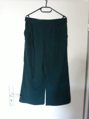 Vero Moda Pantalon 3/4 vert foncé