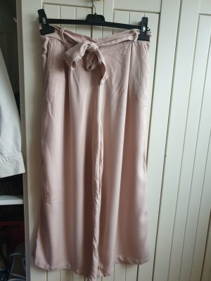 weite Hose in rosa