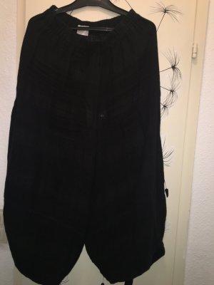 Pantalón de lino negro Lino