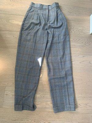 Weite Hose mit Bundfalte von Massimo Dutti