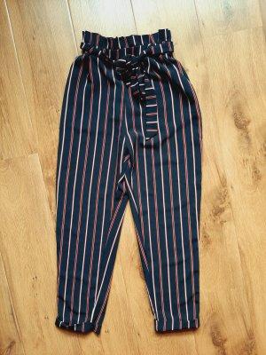 Pull & Bear Pantalone a vita bassa multicolore