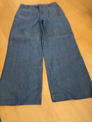 Closed Marlene Trousers azure cotton