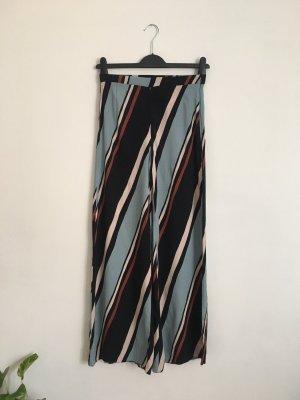 Zara Woman Pantalone palazzo multicolore