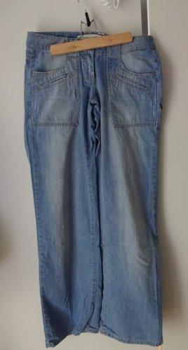 weite Jeans/ Boyfriend-Jeans, W28/L34, vero moda, super auch zum Kürzen