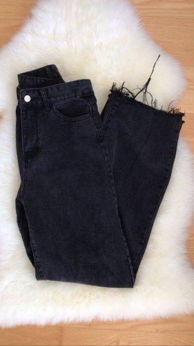 Sheinside Jeans a zampa d'elefante multicolore