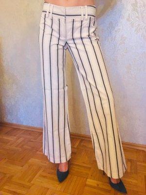 Marlene Trousers natural white-steel blue