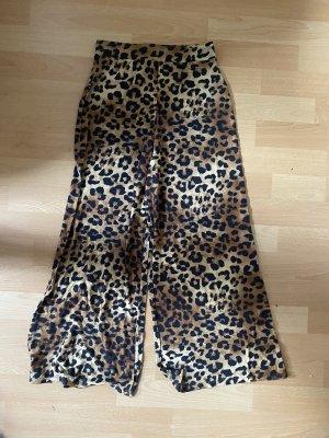 Weite Leoparden Hose