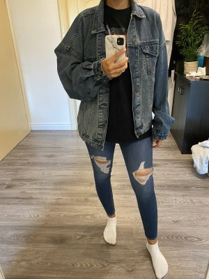 Weite Oversize Jeansjacke