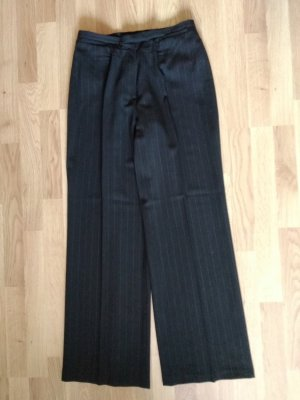 redgreen Wełniane spodnie czarny Wełna