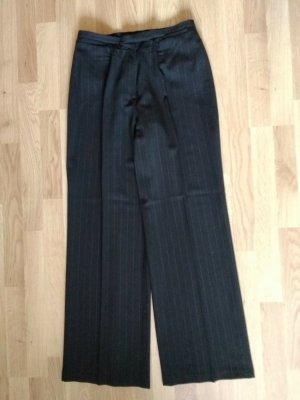 redgreen Pantalon en laine noir laine