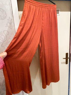 Zara Culotte orange foncé-rouille